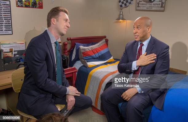 Comedy Central's The Opposition w/ Jordan Klepper tapes a special episode in Rockville MD titled 'The Opposition Chaperones Democracy Kids Just Wanna...