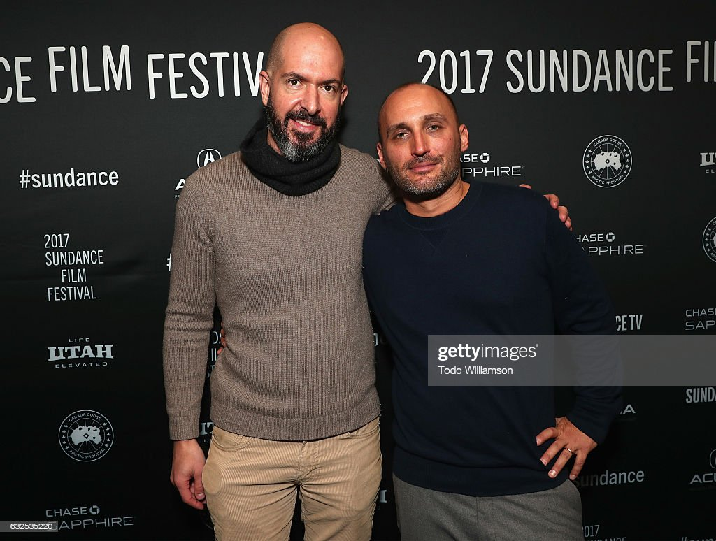 Comedy Development Executive at Amazon Studios Dan Seligmann (L) and director Amir Bar-Lev attend the premiere of Amazon Studios' 'Long Strange Trip' at the 2017 Sundance Film Festival at Yarrow Hotel Theater on January 23, 2017 in Park City, Utah.