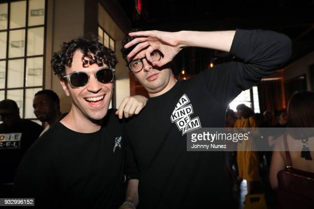 Comedy duo Itsthereal attends The Fader Fort 2018 Day 3 on March 16 2018 in Austin Texas