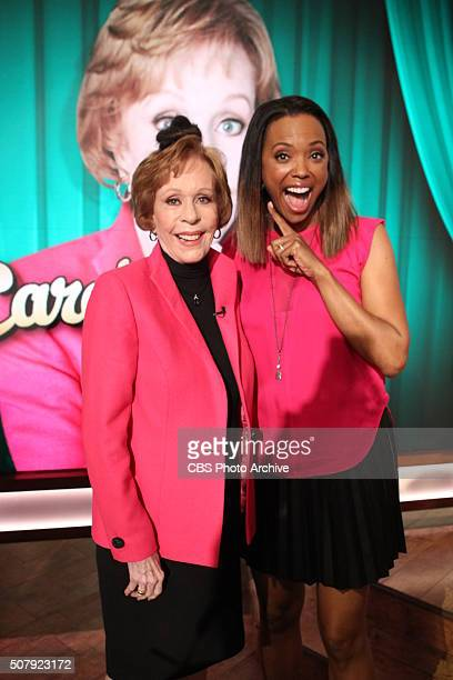 Comedy legend Carol Burnett discusses her SAG Life Achievement Award on The Talk Wednesday January 27 2016 on the CBS Television Network From left...