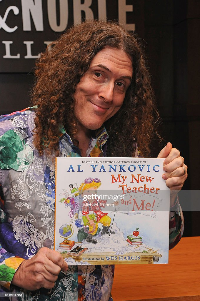 """""""Weird Al"""" Yankovic Book Signing For """"My New Teacher And Me"""""""