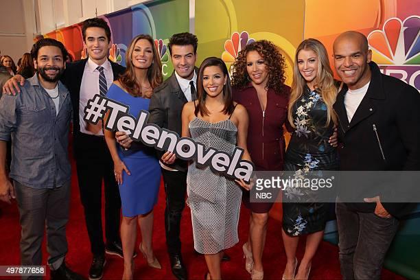 EVENTS NBC Comedy Press Junket Pictured Izzy Diaz Jose Moreno Brooks Alex Meneses Jencarlos Canela Eva Longoria Diana Maria Riva Jadyn Douglas Amaury...