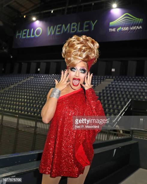 Comedy Queen and RuPaul's Drag Race champion Bianca Del Rio ahead of her September 2019 UK arena tour in September at SSE Arena Wembley on December...