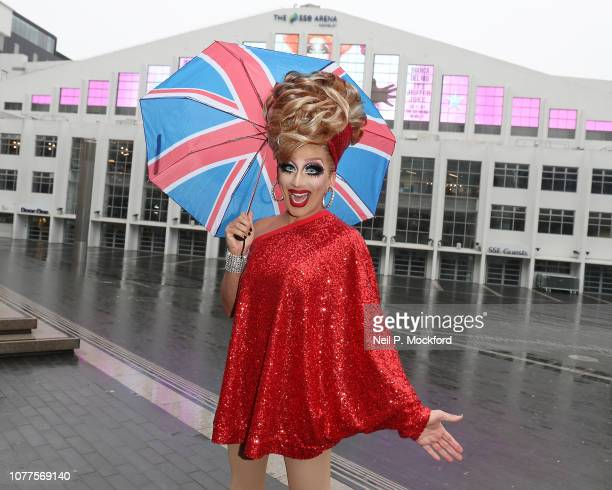 Comedy Queen and RuPaul's Drag Race champion Bianca Del Rio appears at SSE Arena Wembley ahead of her September 2019 UK arena tour on December 05...