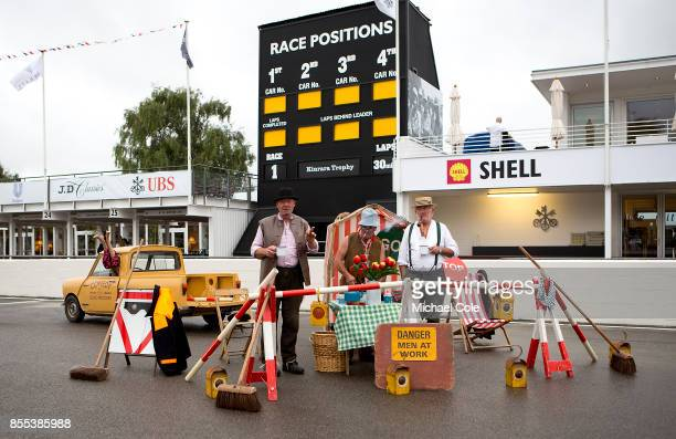 'Comedy Sons Road Menders' on the track at Goodwood on September 8th 2017 in Chichester England