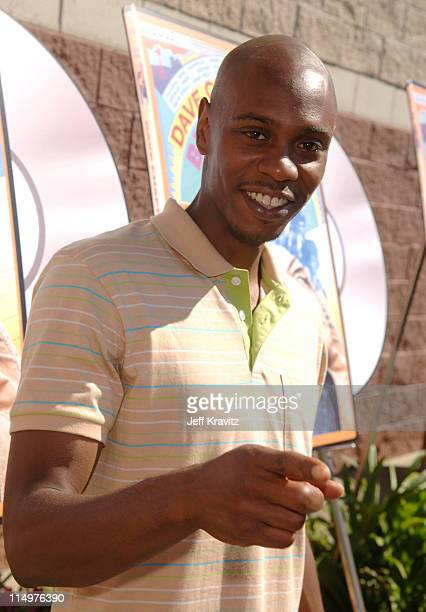 Comedy superstar Dave Chappelle attended the Los Angeles DVD Block Party at the Best Buy in Culver City California to celebrate the June 13 release...