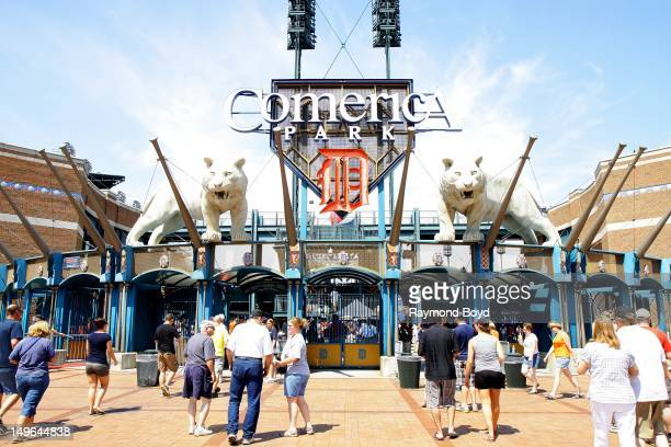 Comerica Park in Detroit Michigan on JULY 21 2012