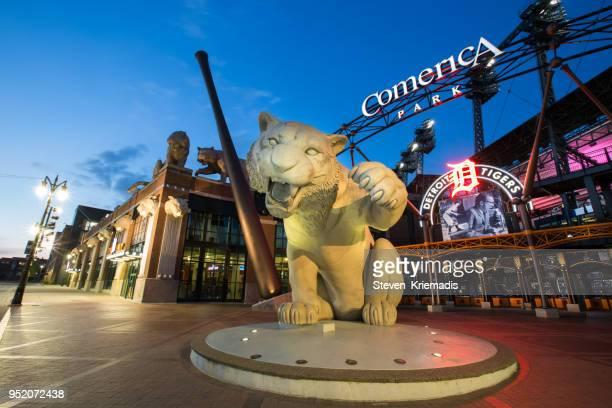 Comerica Park in Detroit, Michigan