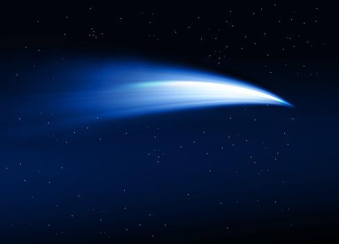 Comet illustration - gettyimageskorea