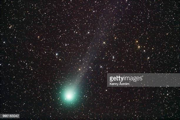 comet lovejoy - cometa halley imagens e fotografias de stock