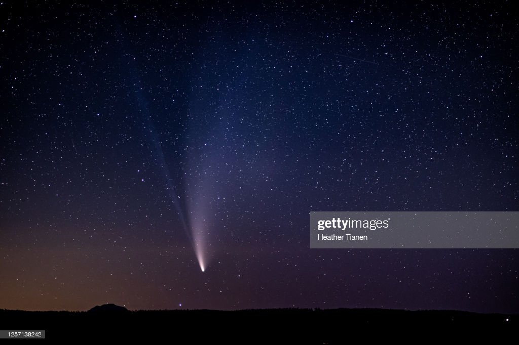 Comet Neowise : Stock Photo