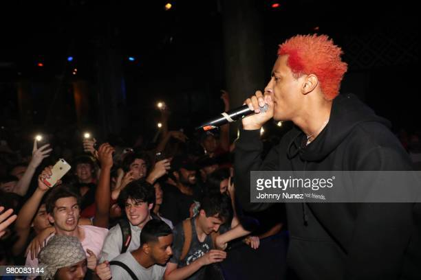 Comethazine performs at SOB's on June 20 2018 in New York City