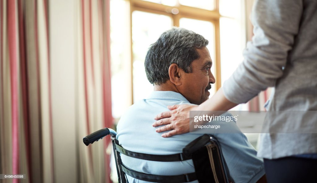 Comfort and care will always be near : Stock Photo