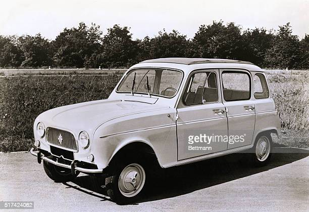 Comfort and utility on and off the highway are features of this new general use economy car announced internationally by Renault The new Renault 4L...