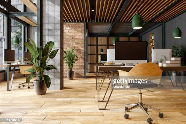 comfortable co-working space. - office stock pictures, royalty-free photos & images