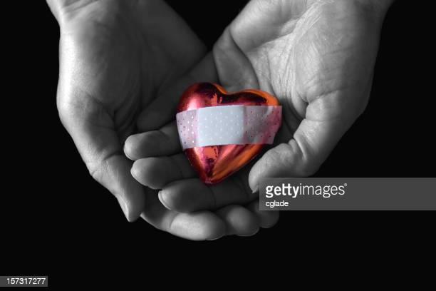 Reconfortante un corazón roto