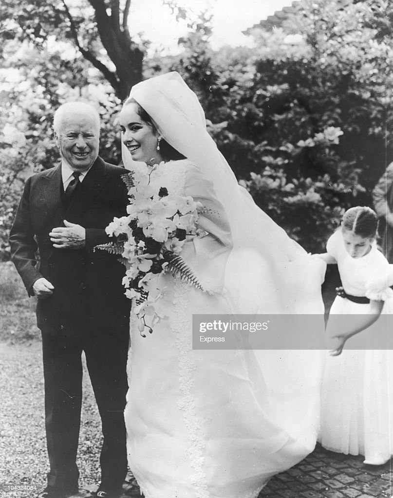 Josephine Chaplin's Wedding : News Photo
