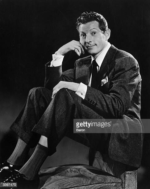 Comic actor film star and Ambassadoratlarge for UNICEF Danny Kaye