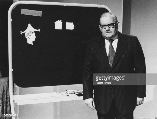 Comic actor Ronnie Barker in a sketch from a television show September 22nd 1973