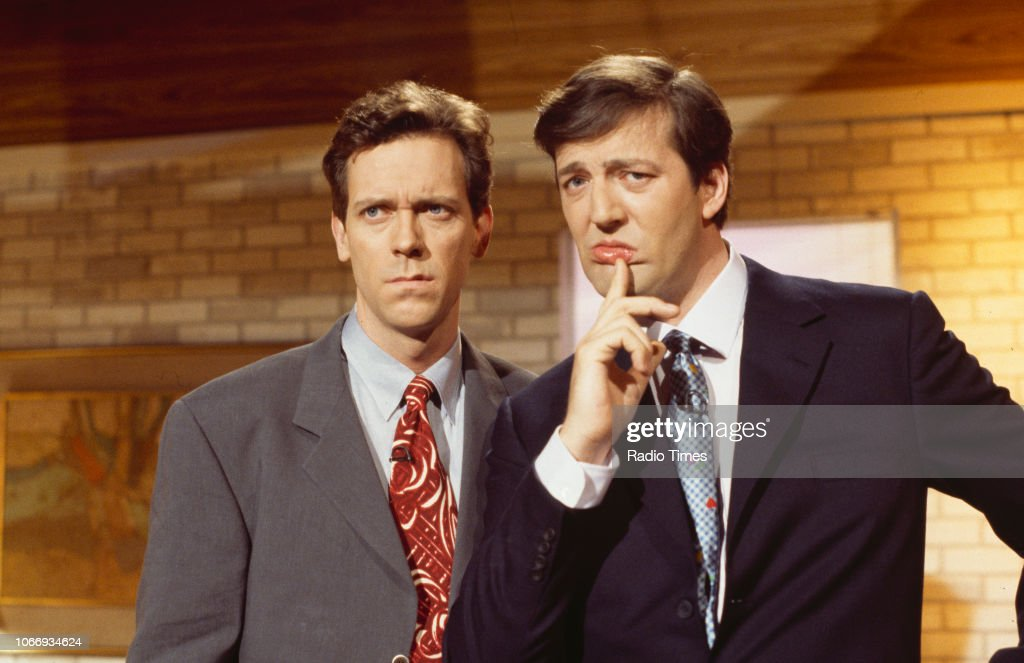A Bit Of Fry And Laurie : News Photo
