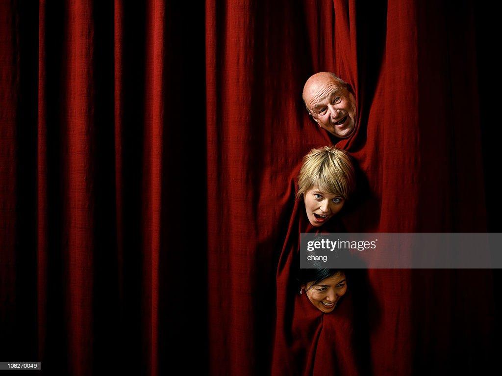 comic actors : Stock Photo