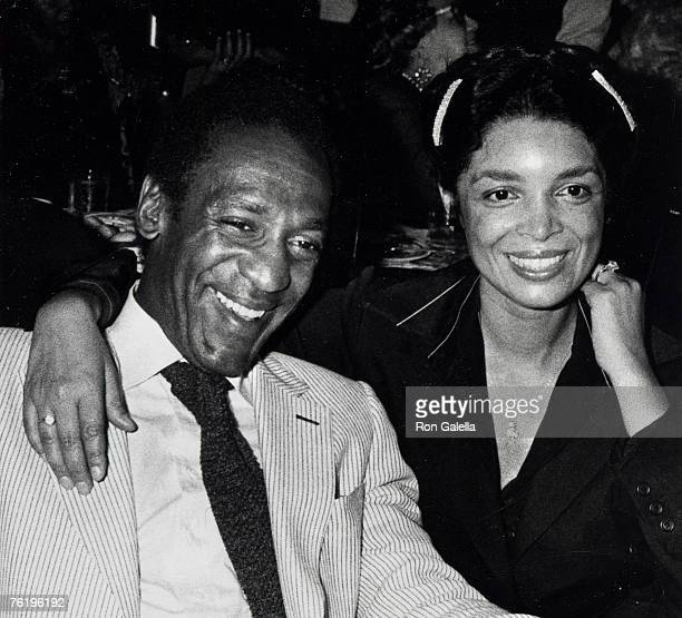 Comic Bill Cosby and wife Camille Olivia attending 40th Anniversary of El Morroco Club on September 20 1978 at El Morroco Club in New York City New...