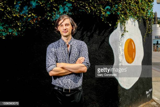 Comic book artist and animator Dash Shaw is photographed for Los Angeles Times on August 16, 2021 in Los Angeles, California. PUBLISHED IMAGE. CREDIT...