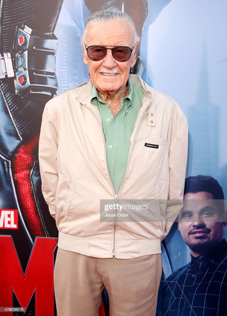Comic book icon Stan Lee attends the world premiere of Marvel's 'Ant-Man' at The Dolby Theatre on June 29, 2015 in Los Angeles, California.