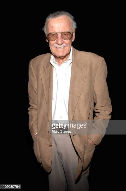 Comic Book Legend Stan Lee attends the 2010 New York Comic Con at the Jacob Javitz Center on October 8 2010 in New York City