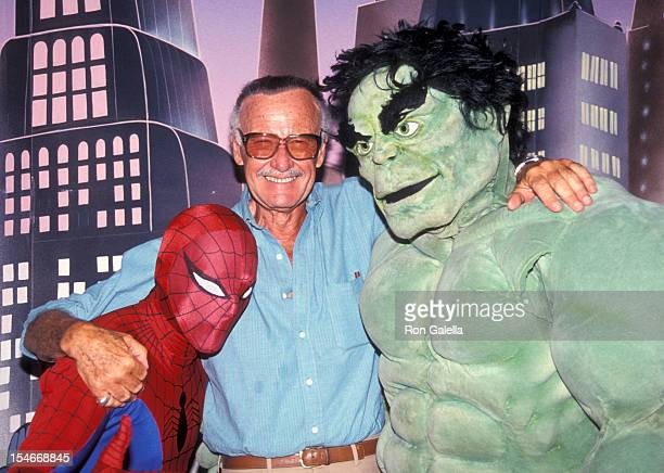 Comic book mogul Stan Lee attending 10th Annual Software Dealears Convention on July 14 1991 at the Sands Hotel in Las Vegas Nevada