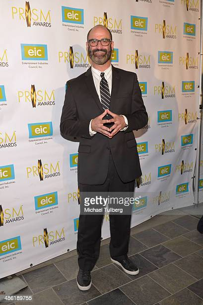 Comic Brody Stevens attends the 18th Annual PRISM Awards Ceremony at Skirball Cultural Center on April 22 2014 in Los Angeles California