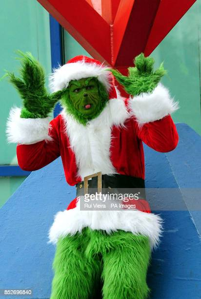 Comic Con enthusiast Jason Coster as Grinch attending the MCM Birmingham Comic Con at The NEC Birmingham