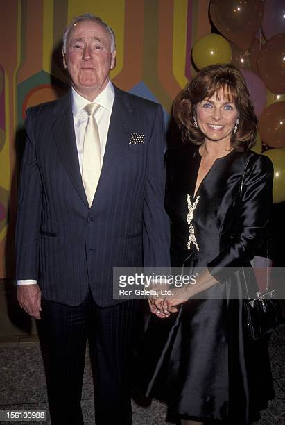 Comic Dick Martin and wife Dolly Read attending 25th Anniversary Party for 'Laugh In' on January 15 1993 at Loew's Santa Monica Beach Hotel in Santa...