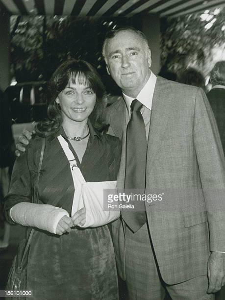 Comic Dick Martin and wife Dolly Read attending 'Easter Brunch' on April 19 1981 at the Beverly Hills Hotel in Beverly Hills California