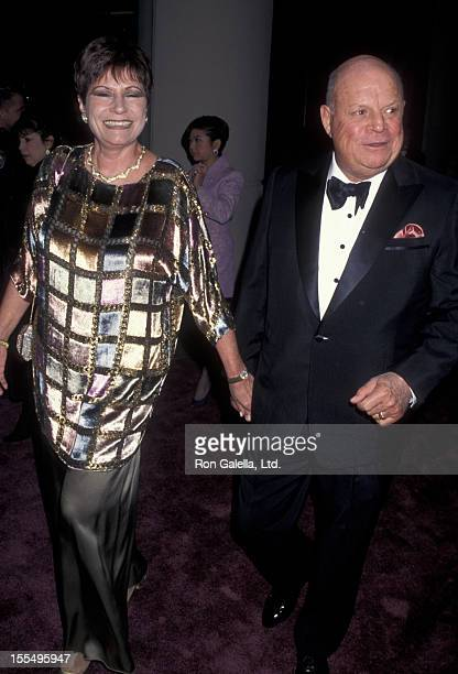 Comic Don Rickles and wife Barbara Sklar attend 24th Annual American Film Institute Lifetime Achievement Awards Honoring Clint Eastwood on February...