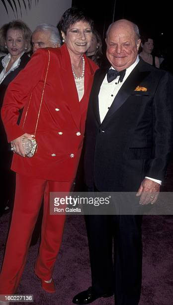 Comic Don Rickles and wife Barbara Sklar attend 25th Annual American Film Institute Lifetime Achievement Awards Honoring Martin Scorcese on February...