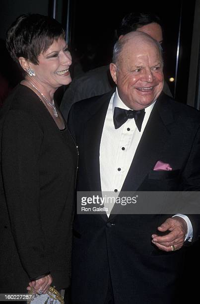 Comic Don Rickles and wife Barbara Sklar attend 28th Annual American Film Institute Lifetime Achievement Awards Honoring Harrison Ford on February 17...