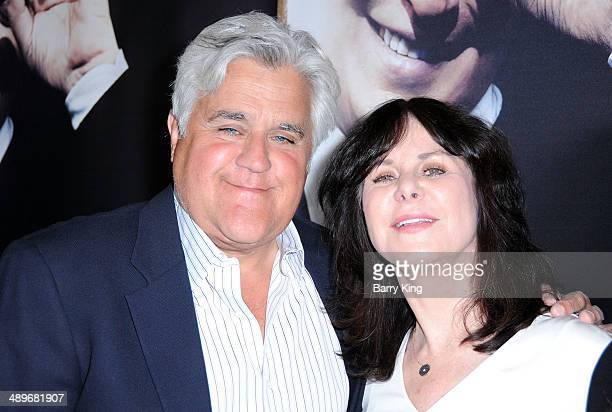 Comic Jay Leno and wife Mavis Leno attends an HBO premiere of an exclusive presentation of 'Billy Crystal 700 Sundays' on April 17 2014 at Ray...