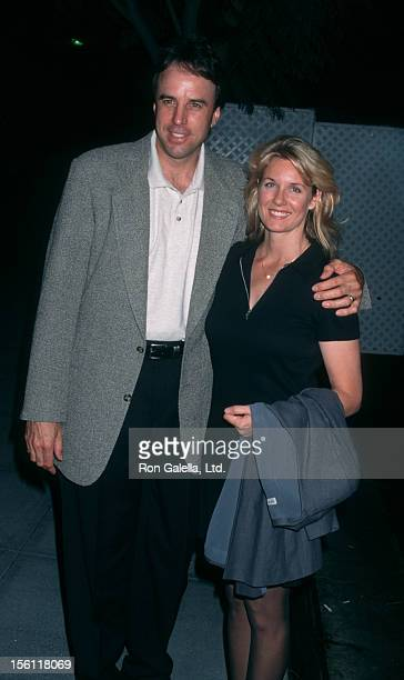 Comic Kevin Nealon and wife Linda Dupree attending 'ABC TV Season Kickoff Party' on September 10 1997 at the Armand Hammer Museum in Westwood...