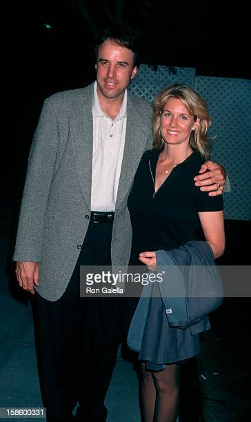 Comic Kevin Nealon and wife Linda Dupree attending ABC TV Season Kickoff Party on September 10 1997 at the Armand Hammer Museum in Westwood California