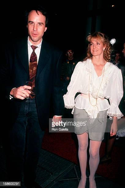 Comic Kevin Nealon and wife Linda Dupree attending Grand Opening of Planet Hollywood on October 22 1991 in New York City New York