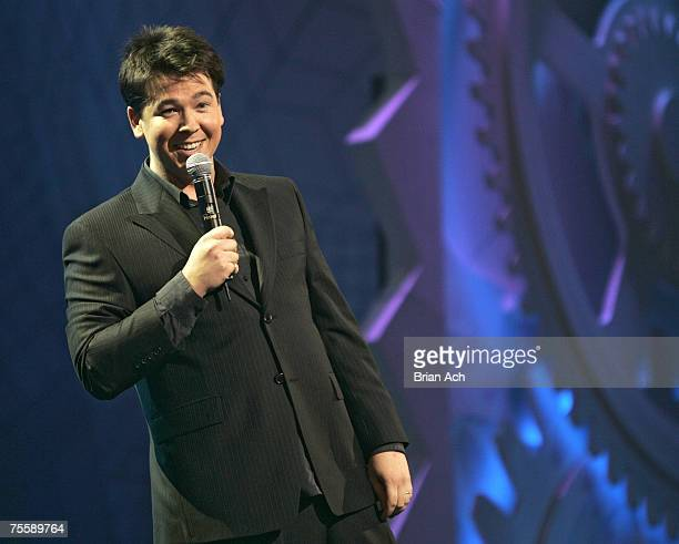 Comic Michael McIntyre performs during the Just For Laughs Festival at the Theatre St. Denis on July 21 in Montreal.