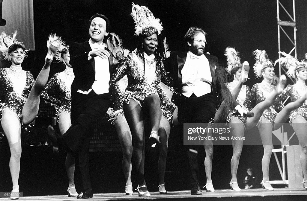Comic Relief at Radio City featuring Billy Crystal, Whoopi G : News Photo