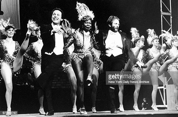 Comic Relief at Radio City featuring Billy Crystal Whoopi Goldberg and Robin Williams dancing with the Rockettes