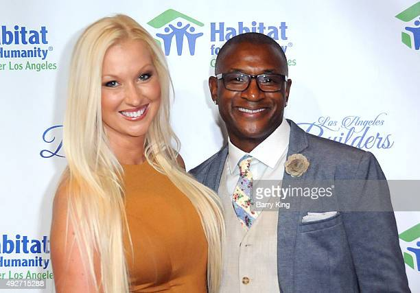 Comic Tommy Davidson and wife Amanda Davidson attend the Habitat For Humanity Of Greater Los Angeles Builders Ball at the Beverly Wilshire Four...