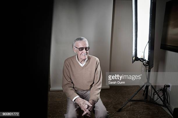 Comicbook writer Stan Lee is photographed for Empire magazine on July 22 2017 in Los Angeles California