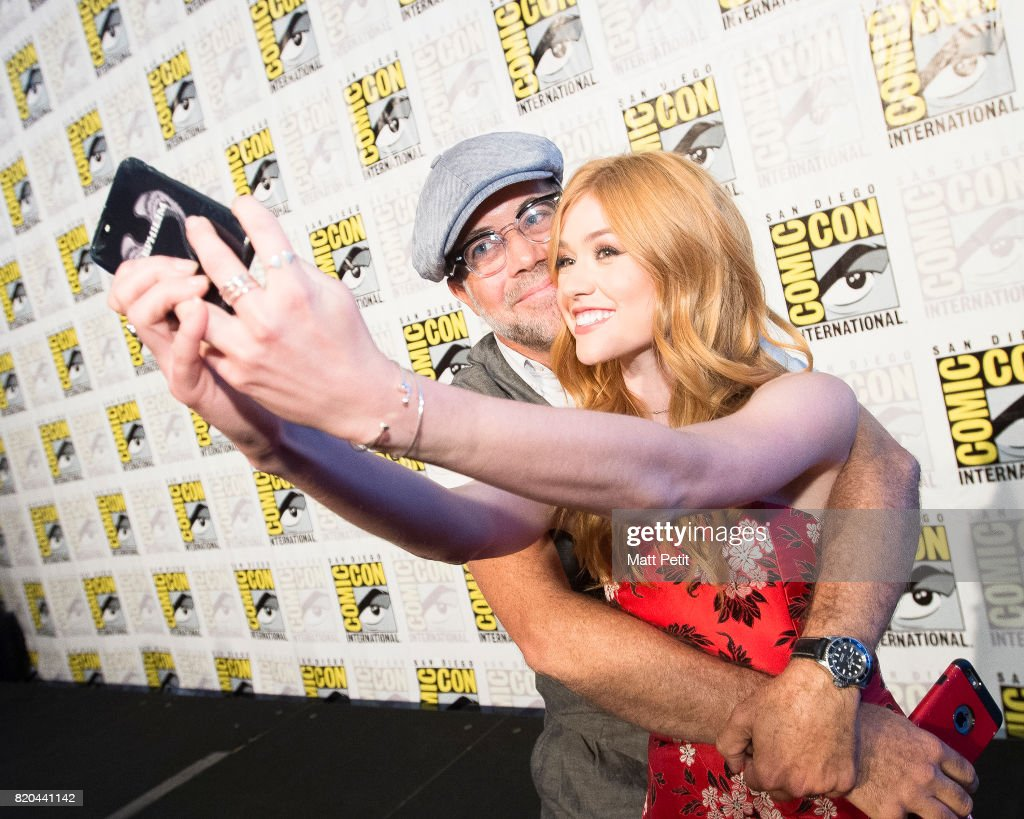 SHADOWHUNTERS - Comic-Con - Cast and executive producers from Freeform's hit original series 'Shadowhunters' and 'Stitchers' were featured at this year's San Diego Comic Con with panels, autograph signings and press rooms. MCNAMARA