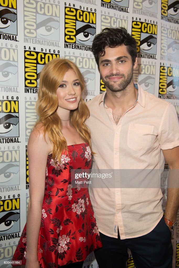 SHADOWHUNTERS - Comic-Con - Cast and executive producers from Freeform's hit original series 'Shadowhunters' and 'Stitchers' were featured at this year's San Diego Comic Con with panels, autograph signings and press rooms. DADDARIO