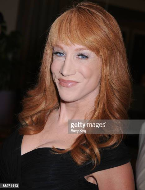 Comic/TV personality Kathy Griffin arrives at the SELF Magazine Celebration of the July 2009 LA Issue held at Sunset Towers on June 18 2009 in West...