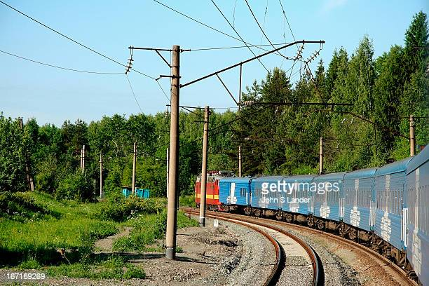Coming around the bend somewhere in Siberia The Baikal takes four days and three nights to reach Moscow from Irkutsk Those four days pass remarkably...